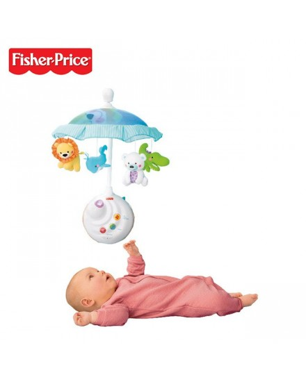 Fisher-Price Precious Planet Two-in-One Projection Mobile