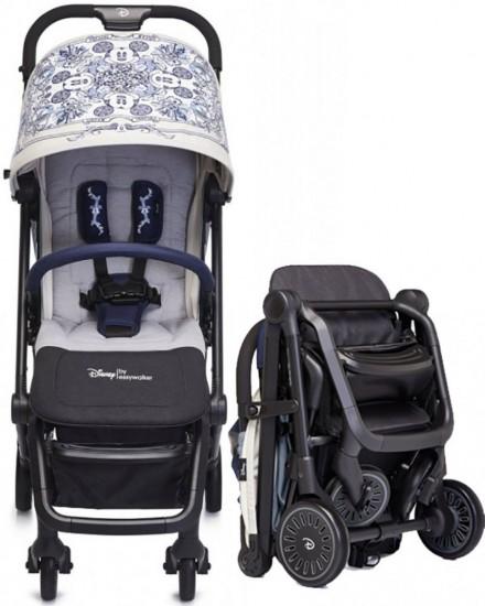 Easywalker Mini XS Stroller Cabin Size - Mickey Diamond Blue