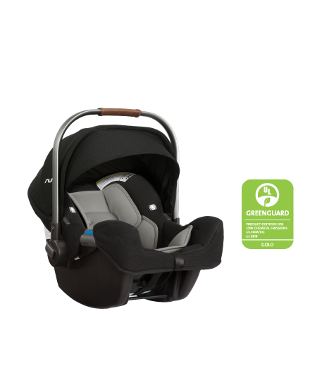 Nuna Pipa Car Seat with Base and Infant
