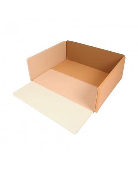 Foldaway Playmat & Bumper Mat Wide Choco