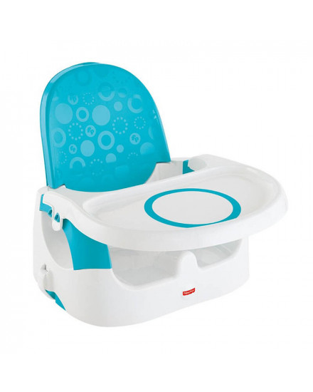 Fisher Price Quick Clean n Go Portable Booster - Blue