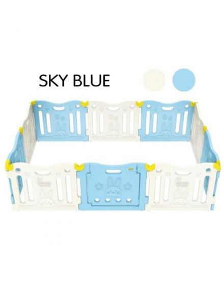 Comflor Safety Fence 10 Panel- Sky Blue