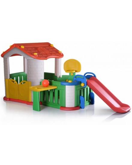 Tobebe Big Playhouse with 3 Play Activities