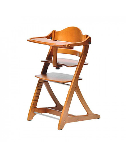 Yamatoya Sukusuku high chair Light Brown