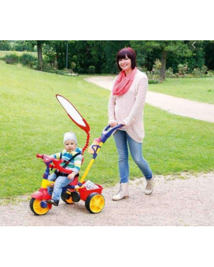 Little Tikes 4-In-1 Trike - Red, Blue and Yellow