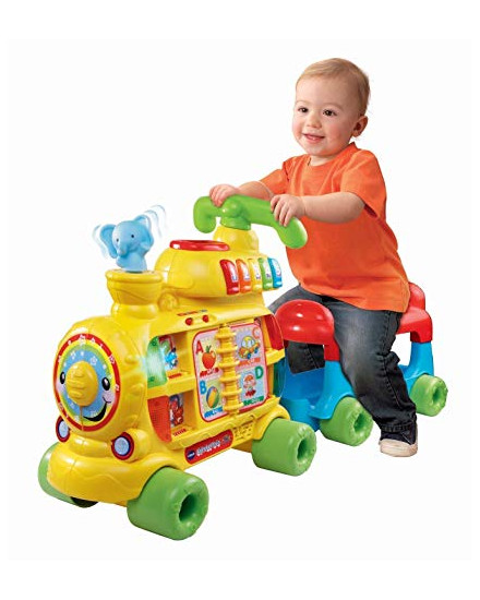 Vtech Sit to Stand Alphabet Train Yellow
