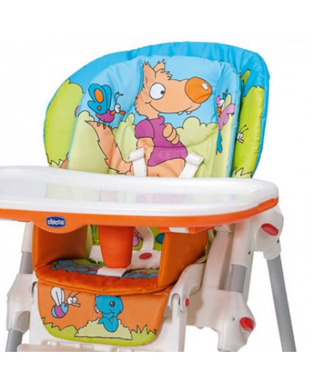 Chicco Polly 2 in 1 High Chair - Wood Friends