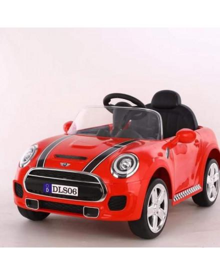 Mini Cooper Mobil Aki DLS06 - Red