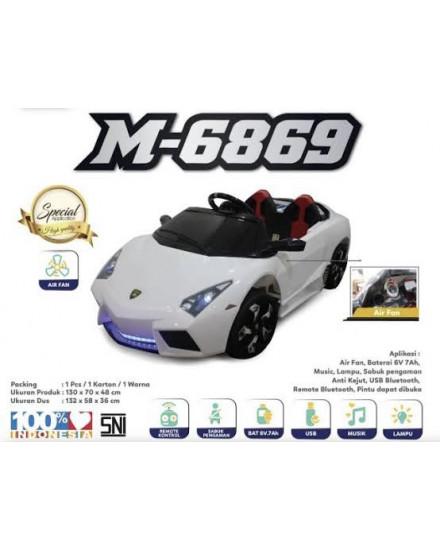 Mobil Aki Lamborghini M-6869 White