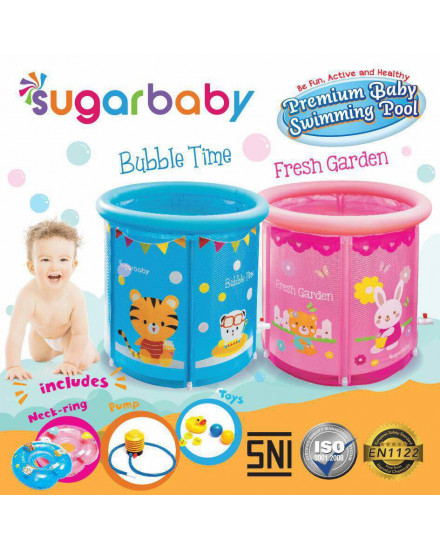 Sugarbaby Premium Baby Spa Swimming Pool - Blue
