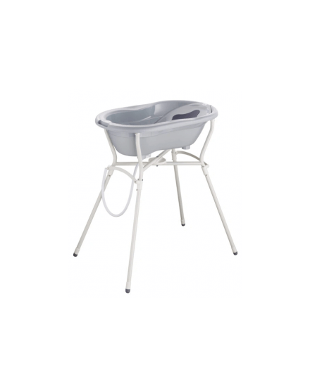 Rotho Ideal Bathing Solution TOP with Stand - Stone Grey