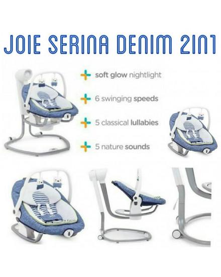 Joie Meet Serina 2 in 1 Bouncer Swing & Rocker