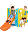 Grow n Up Climb n Explore Play Gym Slide
