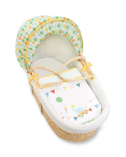 Mothercare Moses basket yellow