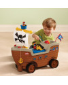 [DISKON] Little Tikes Play n Scoot Pirate Ship Ride-on