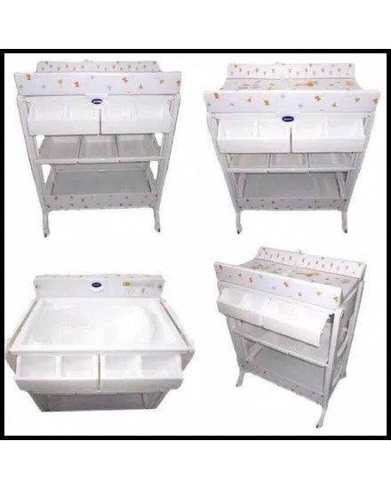Pliko Baby Tafel Bath and Changing Table - Little Farm