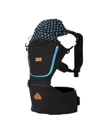 i-Angel 2 in 1 Hipseat baby Carrier Josh Black