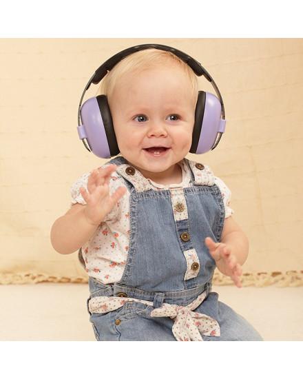 Baby Banz Earmuff - Purple