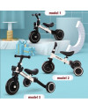 Good Boy 3 in 1 Balance Bike Tricycle Sepeda