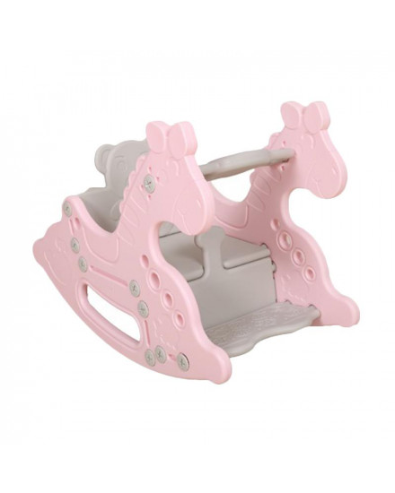 Lolly Gummy Rocking Horse - pink