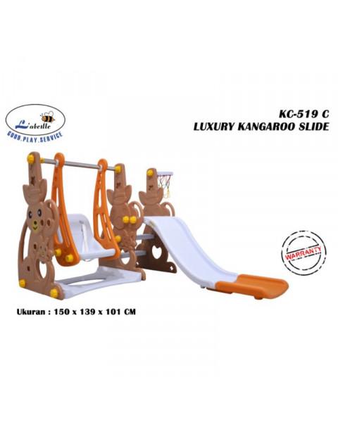 Labeille Luxury Kangaroo Slide and Swing - Brown Kangaroo