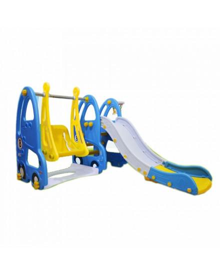 Labeille Luxury Otto Slide and Swing - Blue